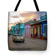 Classic Cuba Cars X1 Tote Bag