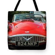Classic Daimler Sports Car Tote Bag by Nick Bywater