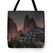 Classic Garden Of The Gods Tote Bag
