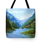 Classic Gorge Tote Bag