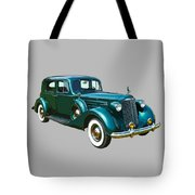 Classic Green Packard Luxury Automobile Tote Bag