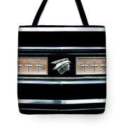 Classic Mercury Grill Emblem Tote Bag
