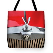 1936 Mg Ta Radiator And Mascot Tote Bag