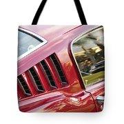 Classic Mustang Fastback Tote Bag