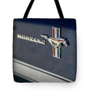 Classic Mustang Logo Closeup Tote Bag