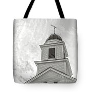 Classic New England Church Etna New Hampshire Tote Bag