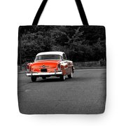 Classic Old Ford Mercury Tote Bag