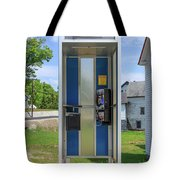 Classic Pay Phone Booth Tote Bag