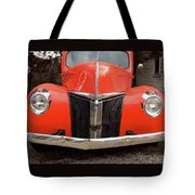 Classic Pick Up Truck Tote Bag