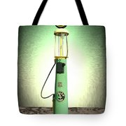 Polly Gasoline Pump And Emblem Tote Bag