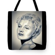 Classic Rita Hayworth Tote Bag