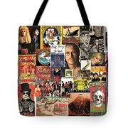 Classic Rock 2 Collage Tote Bag
