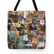 Classic Rock Lp Collage 1 Tote Bag