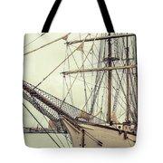 Classic Sail Ship Tote Bag