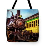 Classic Steam Train No 29 Tote Bag