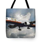 Classic Twa Boeing 757-231 Tote Bag