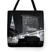 Classic View In Cle Tote Bag