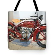 Classic Vintage Indian Motorcycle Red   # Tote Bag