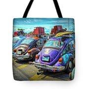 Classic Volkswagen Beetle - Old Vw Bug Tote Bag