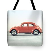 Classic Vw Bug Red Tote Bag