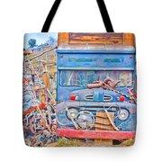 Classic Ward Colorado Boulder County Tote Bag