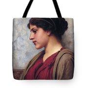 Classical Beauty John William Godward Tote Bag