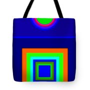 Classical Blue Tote Bag