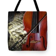 Classical Cello Tote Bag