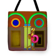 Classical Conundrun Tote Bag