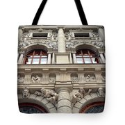 Classical Decorative Building Facade In Vienna Tote Bag