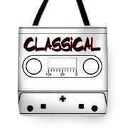 Classical Music Tape Cassette Tote Bag