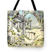 Classical Visitation Tote Bag