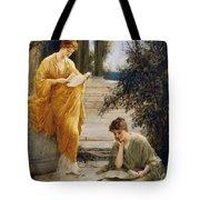 Classical Women Reading  Tote Bag