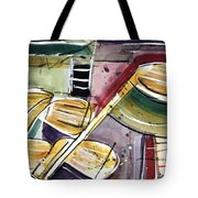 Clattering Clubs Tote Bag