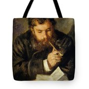 Claude Monet The Reader 1874 Tote Bag