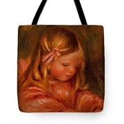 Claude Renoir Playing With Dominos 1905 Tote Bag