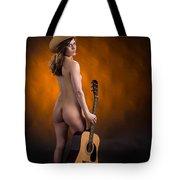 Claudia Nude Fine Art Print In Sensual Sexy Color 4875.02 Tote Bag