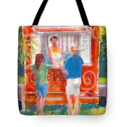 Claudine's Crepes Tote Bag