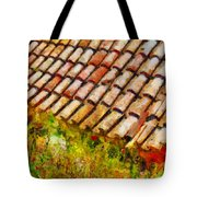 Clay Tiles Tote Bag