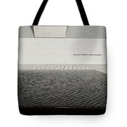 Clean Abstract Lines Of The Aga Khan Museum Facade With Black Po Tote Bag