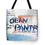 Clean Your Pantry Tote Bag