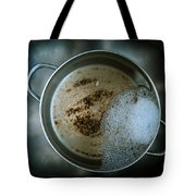 Cleaning The Pot Tote Bag