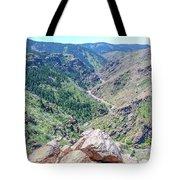 Clear Creek Canyon Tote Bag