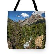 Clear Creek, Flat Top Mountain Tote Bag