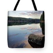 Clear Lake, Oregon Tote Bag