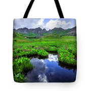 Clear Lake Reflections Tote Bag