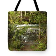 Clear Mountain Stream Tote Bag