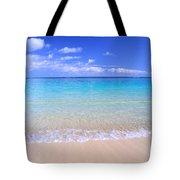 Clear Shoreline Tote Bag