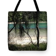 Clear Waters At The Beach Tote Bag