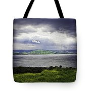 Clearing Over Galilee Tote Bag